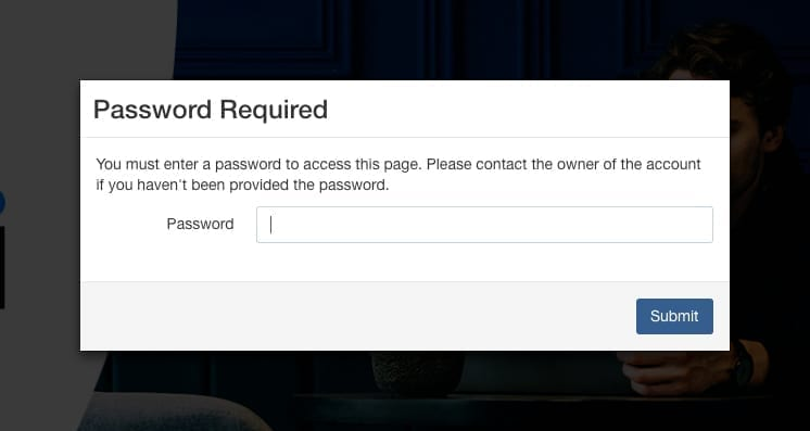 password-required-receive-link